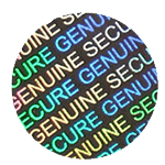 Hologram Security Stickers - Stock