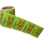 Multi-Purpose Labels on Rolls
