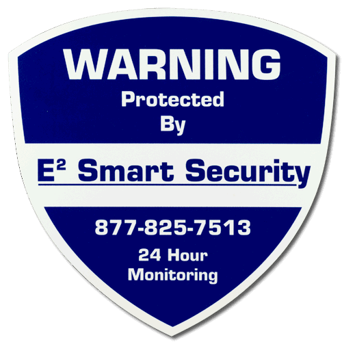 Alarm System Signs - Window decals for home security