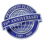 Anniversary Seal designed with global demarkations
