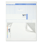 Multi spot color Discovery Store 1 Up packing slip custom integrated label