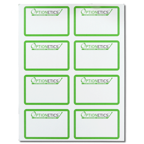 Custom laser mailing labels for Custom mailing stickers