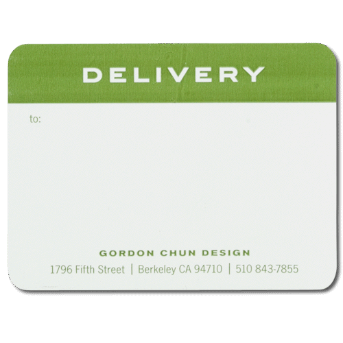 mailing shipping label