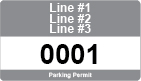 text only parking permit