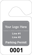 text & logo background parking permit