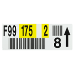 Warehouse Rack Labels