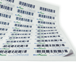 QR Barcodes On Sheets